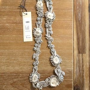 BHLDN bridal sash